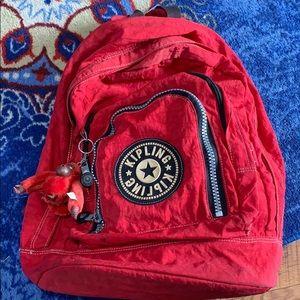 Kipling red backpack